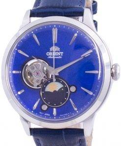 Orient Sun  Moon Phase Open Heart Dial Automatic RA-AS0103A10B Mens Watch