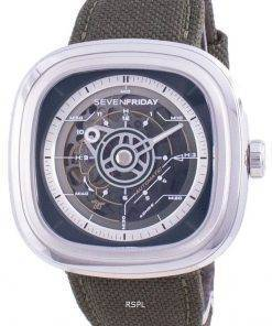 Sevenfriday T-Series Revolution Automatic T201 SF-T2-01 Mens Watch