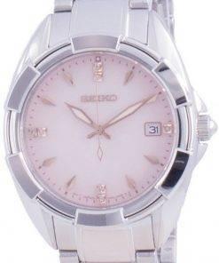 Seiko Discover More Diamond Accents Quartz SKK725 SKK725P1 SKK725P 100M Womens Watch