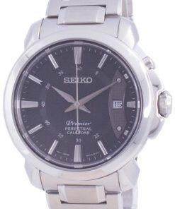 Seiko Premier Perpetual Calendar Quartz SNQ159 SNQ159P1 SNQ159P 100M Mens Watch