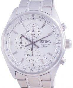 Seiko Chronograph Quartz SSB375 SSB375P1 SSB375P 100M Mens Watch