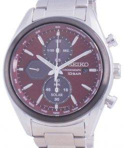 Seiko Discover More Chronograph Solar SSC771 SSC771P1 SSC771P 100M Mens Watch
