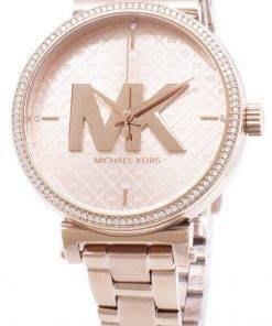 Refurbished Michael Kors Sofie Diamond Accents Quartz MK4335 Women's Watch