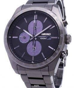 Refurbished Seiko Solar Chronograph SSC721 SSC721P1 SSC721P 100M Men's Watch