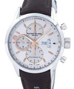 Refurbished Raymond Weil Geneve Freelancer Chronograph Automatic 7730-STC-65025 100M Men's Watch
