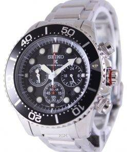 Refurbished Seiko Prospex Diver's Solar Chronograph SSC015 SSC015P1 SSC015P 200M Men's Watch