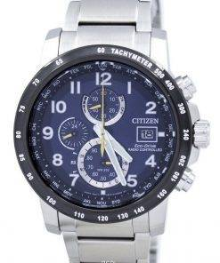 Refurbished Citizen Eco-Drive Radio Controlled Chronograph AT8124-91L 200M Men's Watch