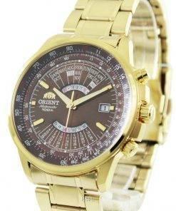 Refurbished Orient Automatic Perpetual Calendar FEU07003TX 100M Men's Watch