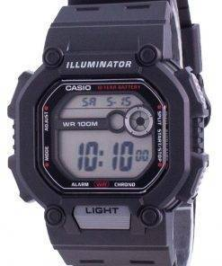 Casio Youth Dual Time Illuminator W-737H-1A W737H-1 100M Mens Watch