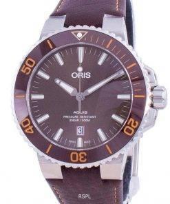 Oris Aquis Date Automatic Diver's 01-733-7730-4152-07-5-24-12EB 300M Men's Watch