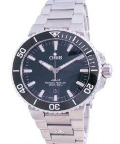 Oris Aquis Date Automatic Diver's 01-733-7730-4157-07-8-24-05PEB 300M Men's Watch