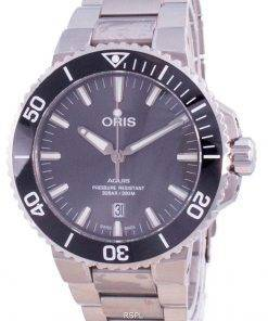 Oris Aquis Date Automatic Diver's Titanium 01-733-7730-7153-07-8-24-15PEB 300M Men's Watch