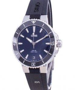 Oris Aquis Date Automatic Diver's 01-733-7731-4135-07-4-18-64FC 300M Women's Watch