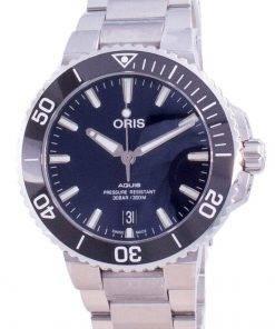 Oris Aquis Date Automatic Diver's 01-733-7732-4135-07-8-21-05PEB 300M Men's Watch