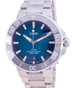Oris Aquis Date Automatic Diver's 01-733-7732-4155-07-8-21-05PEB 300M Men's Watch