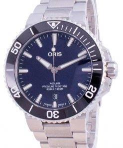 Oris Aquis Date Automatic Diver's 01-733-7766-4135-07-8-22-05PEB 300M Men's Watch