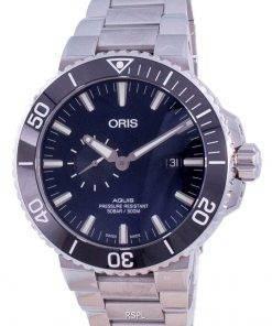 Oris Aquis Small Second Date Automatic Diver's 01-743-7733-4135-07-8-24-05PEB 500M Men's Watch