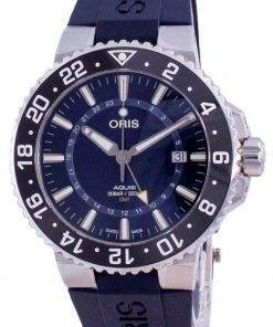 Oris Aquis GMT Date Automatic Diver's 01-798-7754-4135-07-4-24-65EB 300M Men's Watch