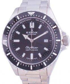 Edox Skydiver Neptunian Automatic Diver's 801203NMNIN 80120 3NM NIN 1000M Men's Watch