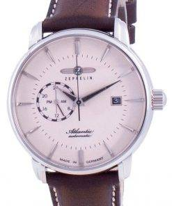 Zeppelin Atlantic Beige Dial Automatic 8470-5 84705 Men's Watch