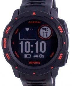 Garmin Instinct E-Sport Edition Display Outdoor Fitness GPS Black Band 010-02064-72 Multisport Watch
