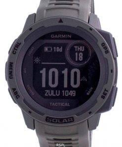 Garmin Instinct Solar Tactical Edition Green Silicone Band 010-02293-04 Multisport Watch