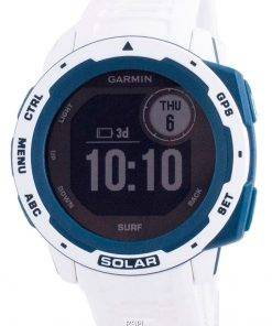 Garmin Instinct Solar Surf Edition Fitness GPS White Silicone Band 010-02293-08 Multisport Watch