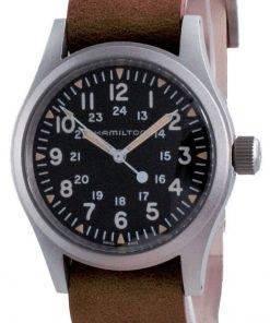 Hamilton Khaki Field Black Dial Mechanical H69439531 Mens Watch