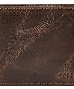 Fossil Derrick RFID Passcase Dark Brown Bifold ML3771201 Mens Wallet