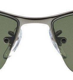 Ray-Ban Rectangular Polarized RB3183-004-9A-63 Mens Sunglasses