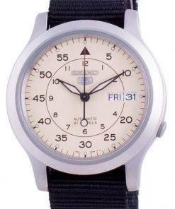 Seiko 5 Military SNK803K2-var-NATOS13 Automatic Nylon Strap Men's Watch