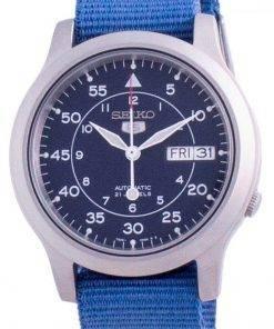Seiko 5 Military SNK807K2-var-NATOS11 Automatic Nylon Strap Men's Watch