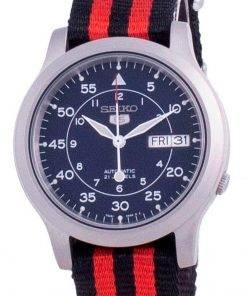 Seiko 5 Military SNK807K2-var-NATOS15 Automatic Nylon Strap Men's Watch