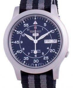 Seiko 5 Military SNK807K2-var-NATOS16 Automatic Nylon Strap Men's Watch