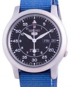 Seiko 5 Military SNK809K2-var-NATOS11 Automatic Nylon Strap Men's Watch