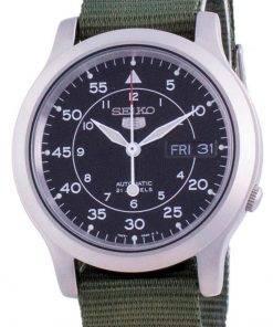 Seiko 5 Military SNK809K2-var-NATOS12 Automatic Nylon Strap Men's Watch