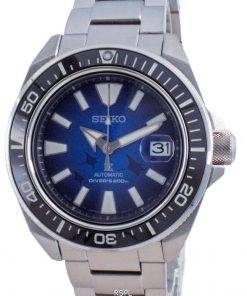 Seiko Prospex Save The Ocean Manta Ray Edition Automatic Divers SRPE33 SRPE33J1 SRPE33J 200M Mens Watch