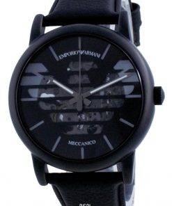 Emporio Armani Luigi Skeleton Leather Automatic AR60032 Mens Watch