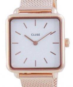 Cluse La Tetragone White Dial Quartz CW0101207001 Womens Watch