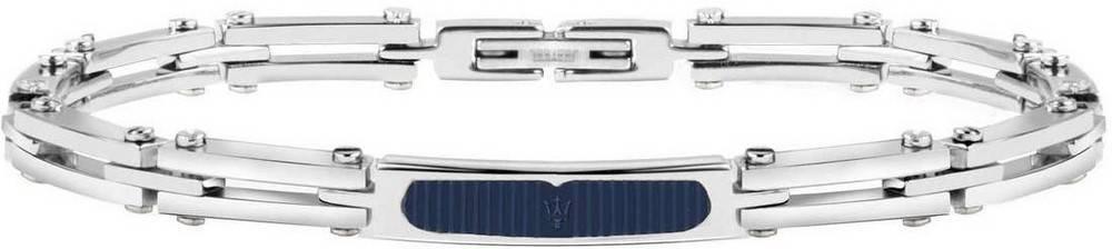 Maserati Prestige Sterling Silver JM417AKV02 Mens Bracelet