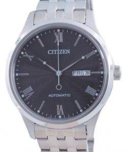 Citizen Mechanical Black Dial Stainless Steel NH7501-85H Mens Watch