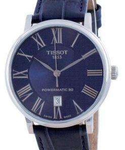 Tissot T-Classic Carson Premium Powermatic 80 Automatic T122.407.16.043.00 T1224071604300 Mens Watch