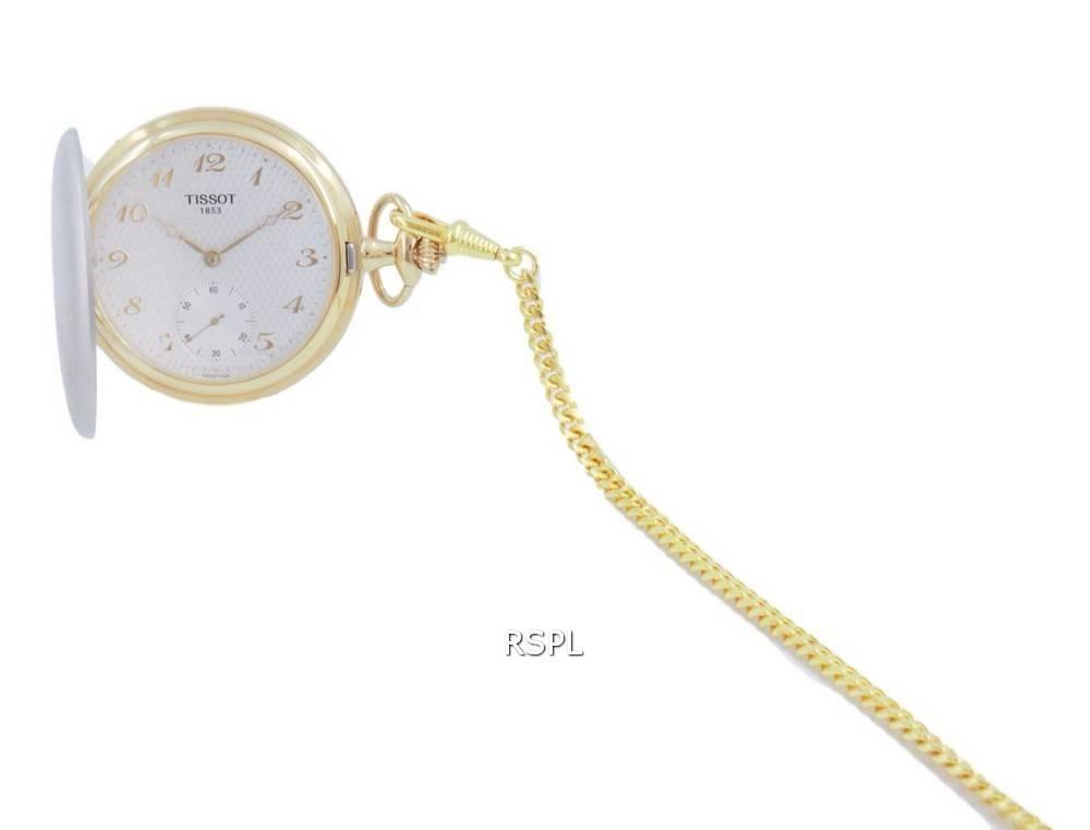 Tissot T-Pocket Savonnettes Quartz T83.9.459.32 T83945932 Pocket Watch