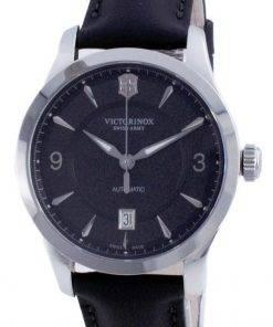 Victorinox Alliance Swiss Army Black Dial Automatic 241869 100M Mens Watch