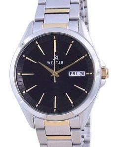 Westar Black Dial Stainless Steel Quartz 40212 CBN 103 Women's Watch