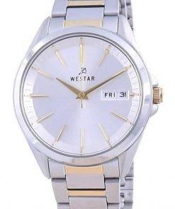 Westar Silver Dial Two Tone Stainless Steel Quartz 40212 CBN 107 Women's Watch