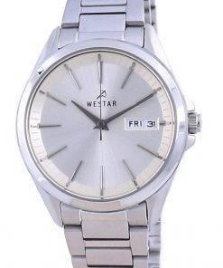 Westar Champagne Dial Stainless Steel Quartz 40212 STN 102 Women's Watch