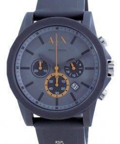 Armani Exchange Chronograph Silicone Quartz AX7123 Mens Watch