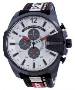 Diesel Mega Chief Chronograph Nylon Quartz DZ4512 100M Men's Watch