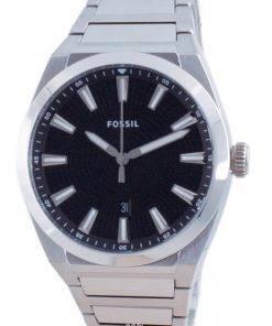 Fossil Everett Black Dial Stainless Steel Quartz FS5821 Men's Watch
